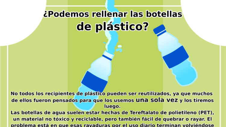 Reutilizar botellas