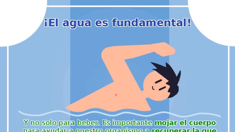 El agua es fundamental
