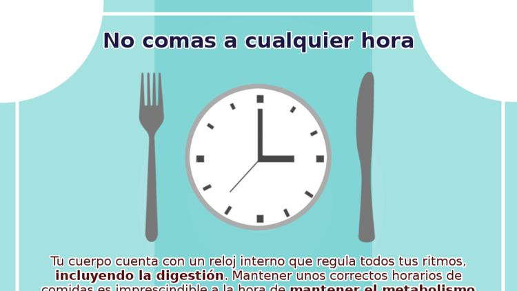 Horarios al comer
