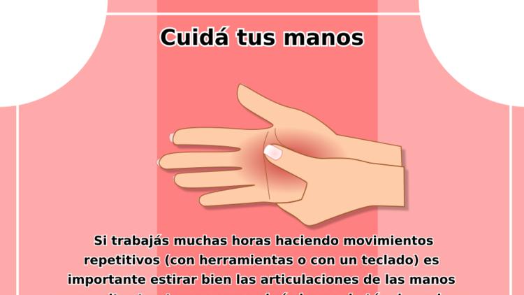 Cuidá tus manos